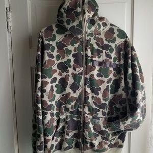 FINGERCROXX Camo hoodie
